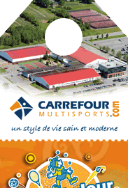 accroches portes Carrefour Multisports